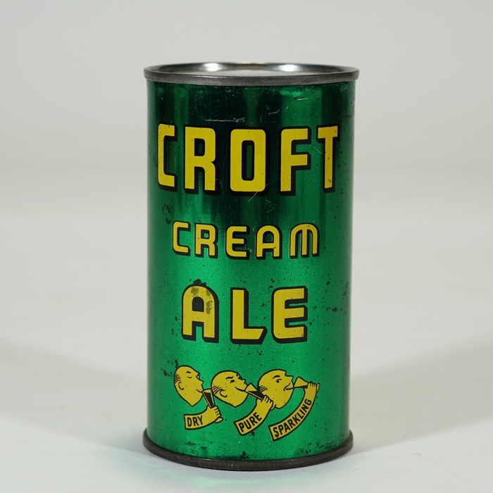 Croft Cream Ale Can 6 PRODUCTS 52-18 Beer
