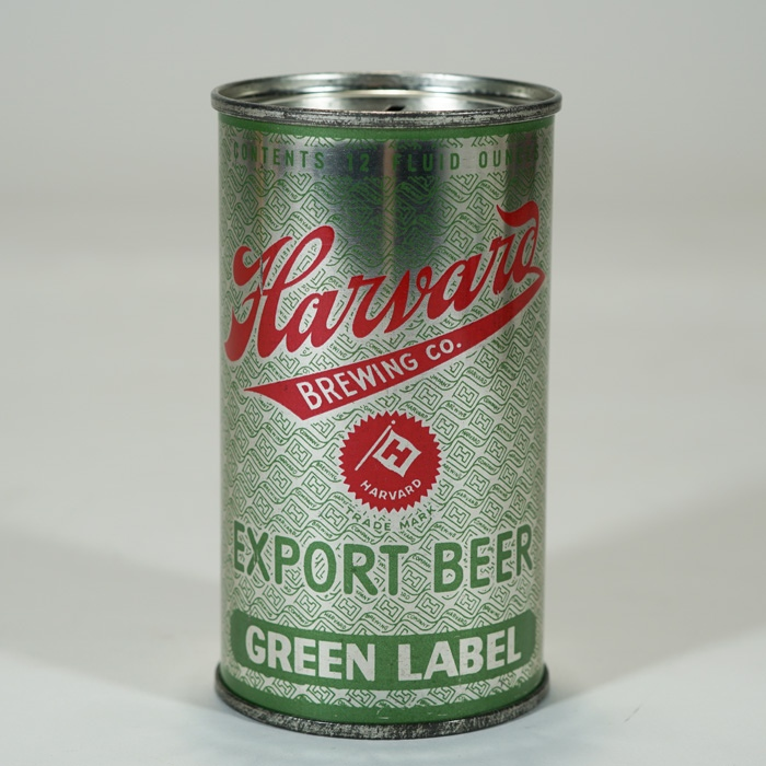 Harvard Export Beer Green Label TEST-SILVER Beer