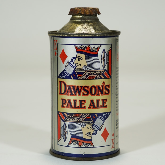 Dawson's Pale Ale Playing Card NO U-PERMIT Beer