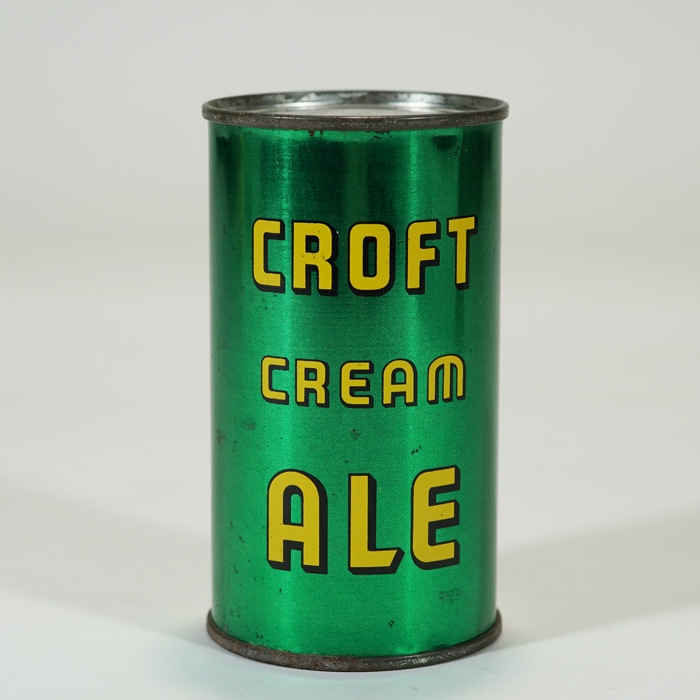 Croft Cream Ale Can 52-22 Beer