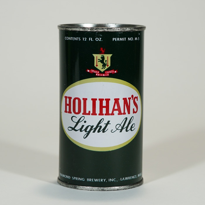 Holihan's Light Ale Can 83-01 Beer