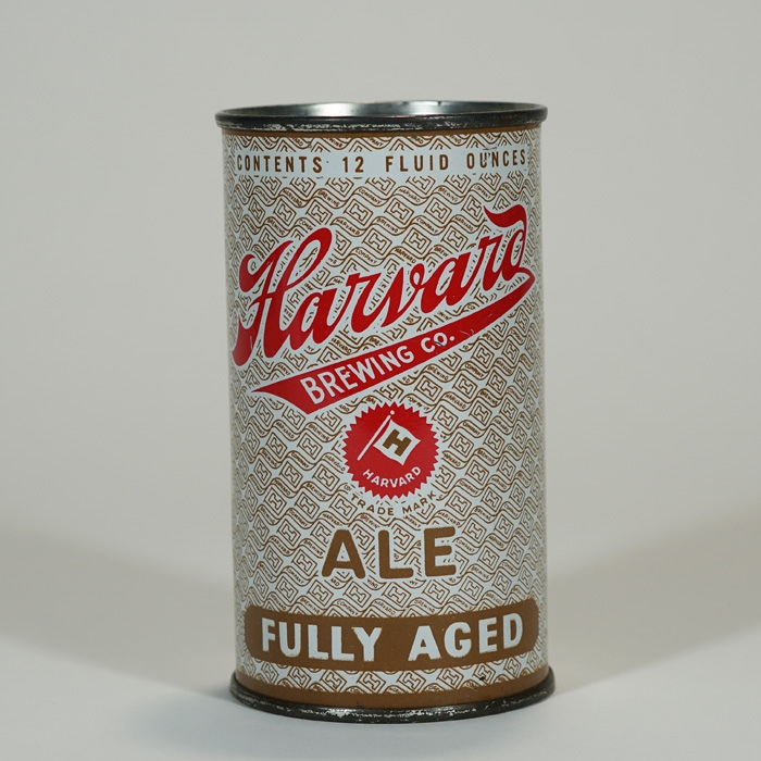 Harvard Fully Aged Ale Can 80-30 Beer