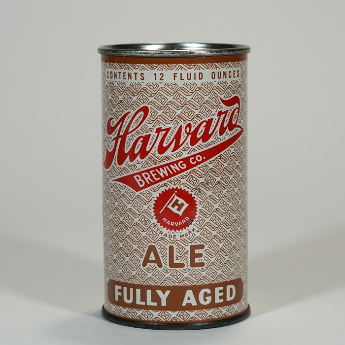 Harvard Fully Aged Ale Can IRTP 80-27 Beer