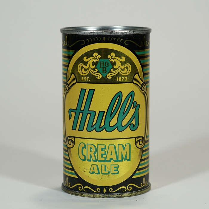 Hull's Cream Ale Can 84-19 Beer