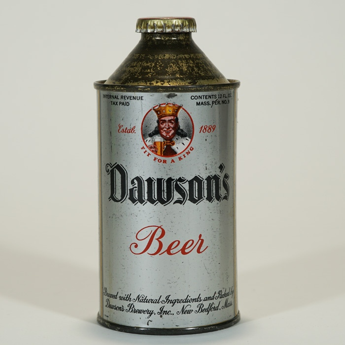 Dawson's Beer Cone Top Can 159-07 Beer