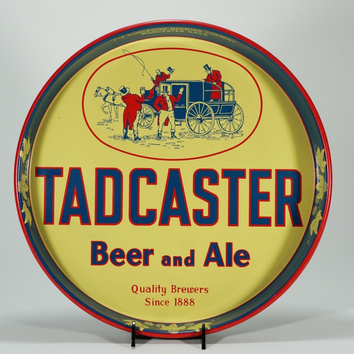 Tadcaster Beer Ale Tray Worcester Brewing Beer