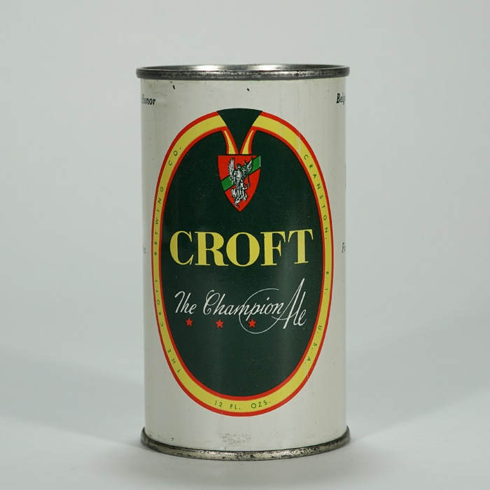 Croft Champion Ale Can 52-34 Beer