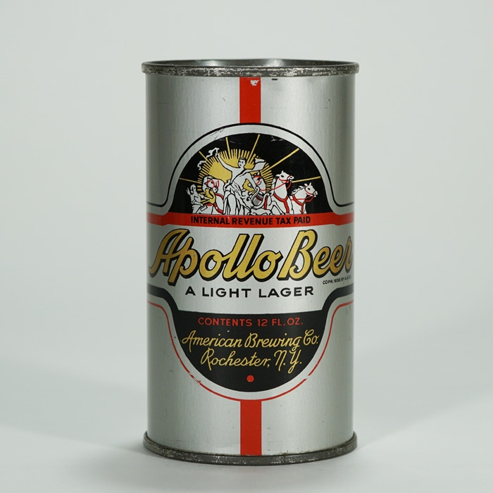 Apollo Light Lager Can OI 40 Beer
