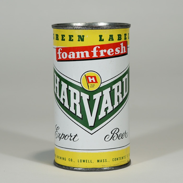 Harvard Foam Fresh Export Beer Can 80-38 Beer