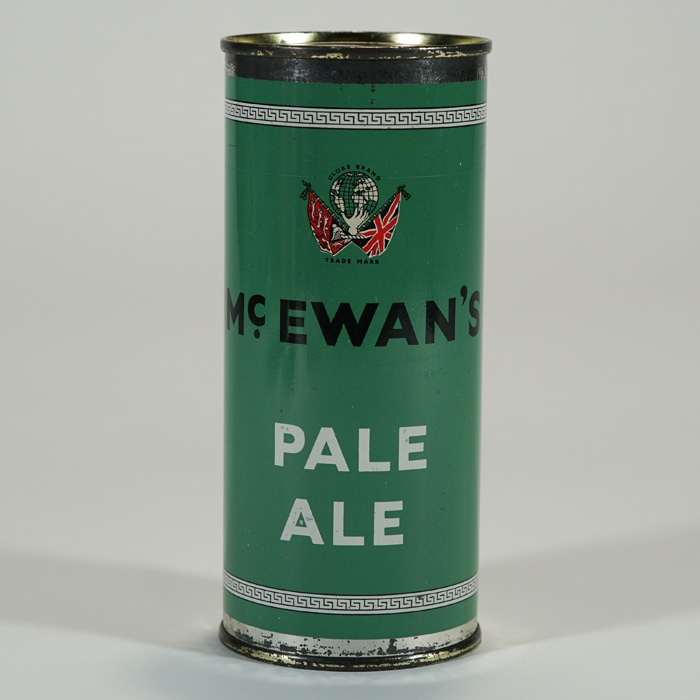McEwan's Pale Ale Flat Top Can Beer