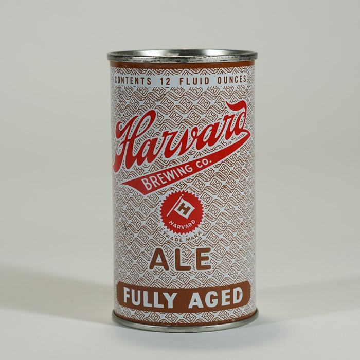Harvard Fully Aged Ale Can 80-27 IRTP Beer