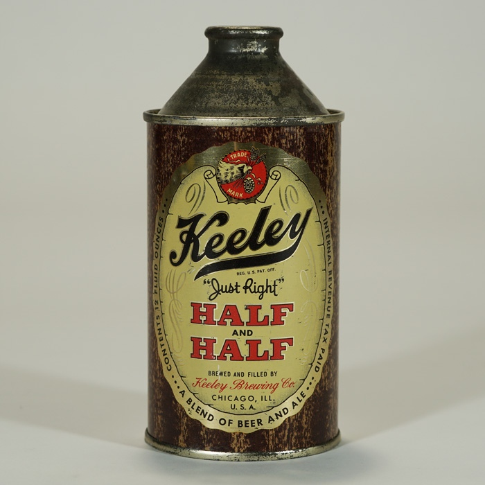 Keeley Half and Half Cone Can 171-12 Beer