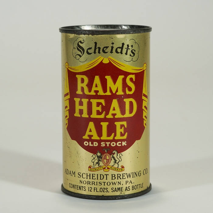 Ram's Head Ale OI 712 Can Beer
