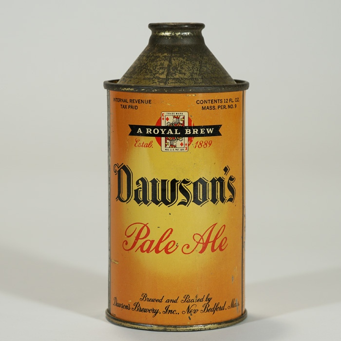 Dawson's Pale Ale HIGH PROFILE Cone 158-30 Beer