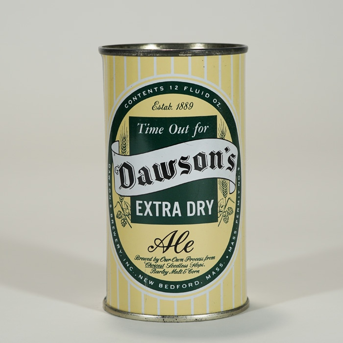 Dawson's Extra Dry Ale BANK TOP 53-09 Beer