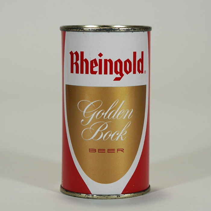 Rheingold Golden Bock Can 123-18 Beer