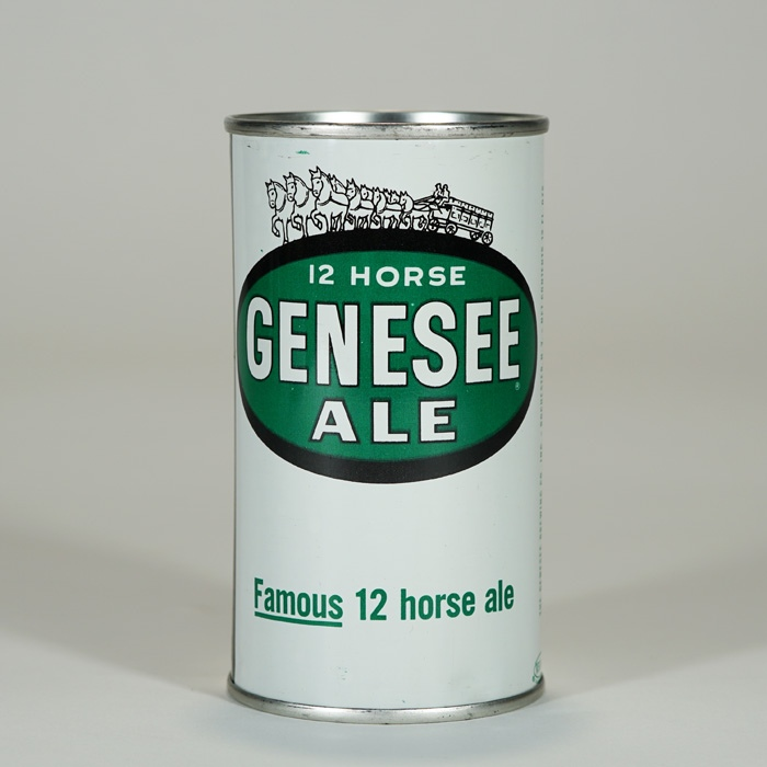 Genesee 12 Horse Ale Can 68-22 Beer