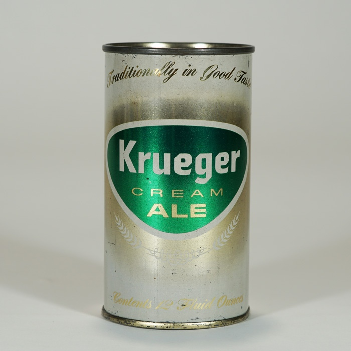 Krueger Cream Ale Can NEWARK 89-39 Beer