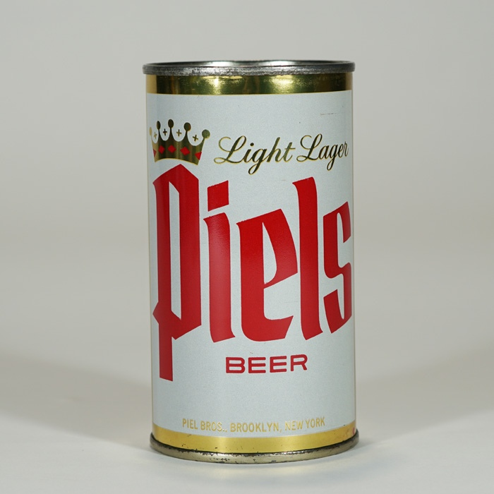 Piels Light Lager Can BROOKLYN Like 115-22 Beer