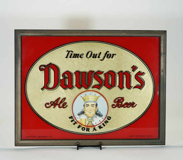 Dawson's Fit For A King ROG Sign Beer