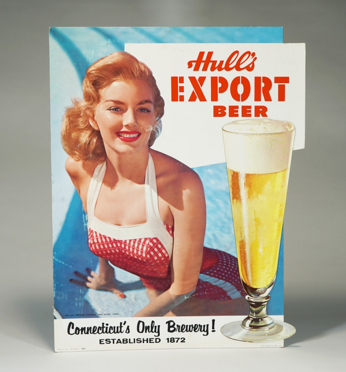 Hull's Export Beer Diecut Sign Beer