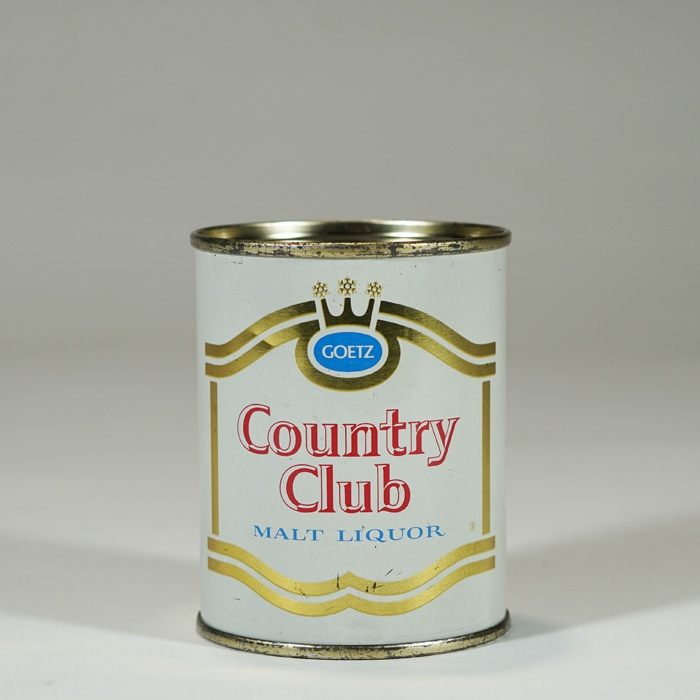 Country Club Malt Liquor Can 240-25 Beer