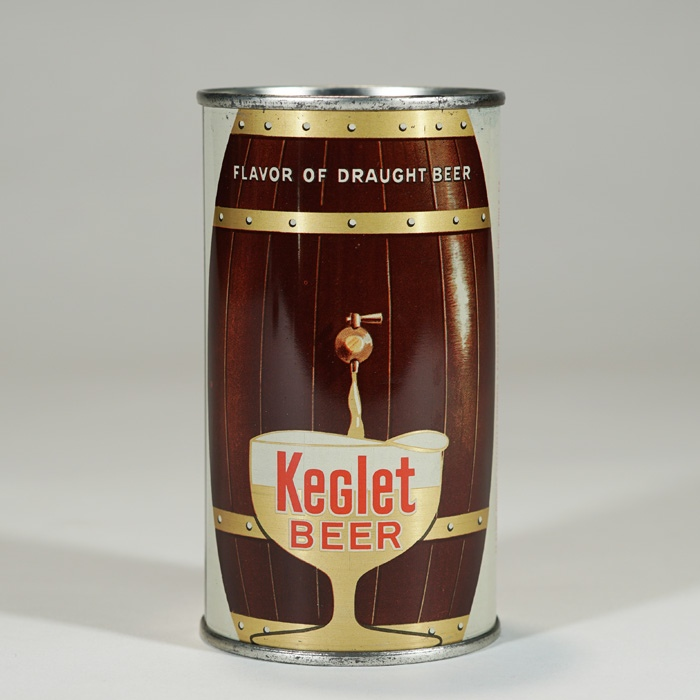 Keglet Beer Can METALLIC 87-29 Beer