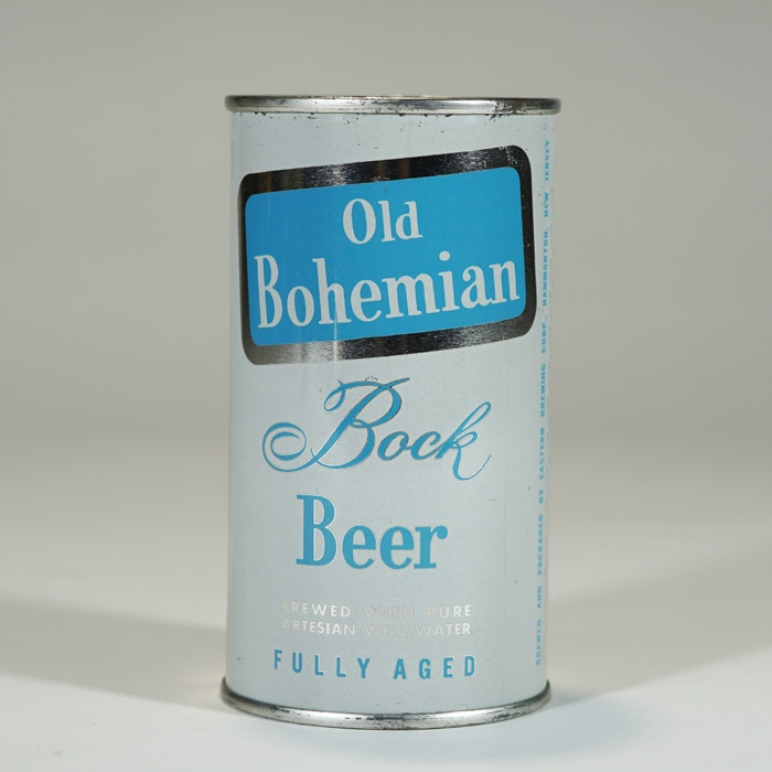 Old Bohemian Bock Beer Can 104-29 Beer