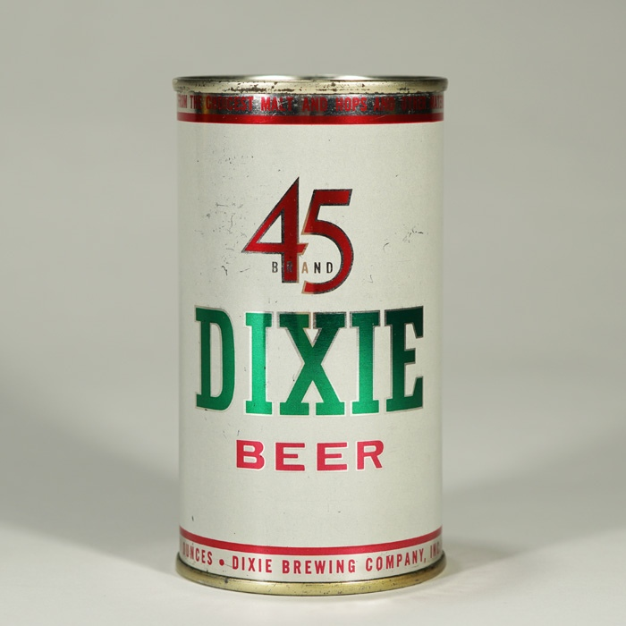 Dixie 45 Beer Can 53-40 Beer