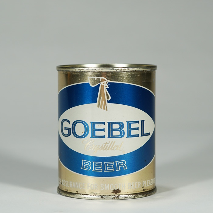 Goebel Crystilled Beer Can 241-26 Beer