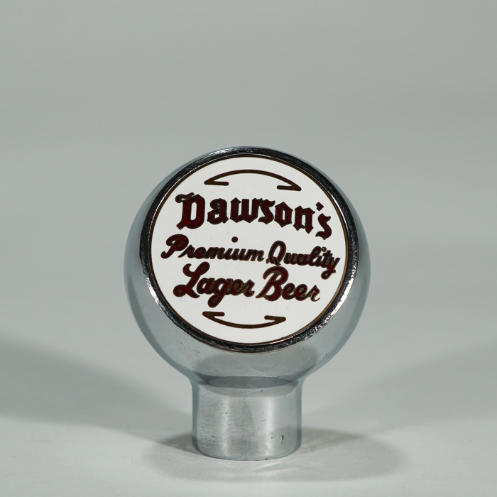 Dawson's Premium Quality Lager Beer Ball Knob Beer