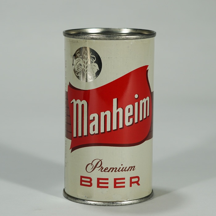 Manheim Premium Beer Can 94-26 Beer
