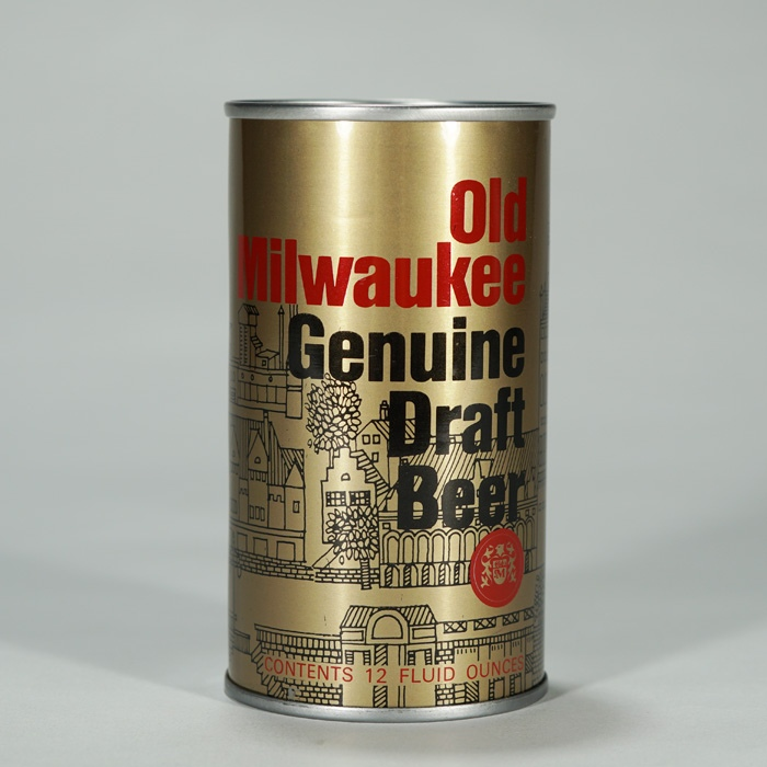 Old Milwaukee Test Can 258-1 Beer