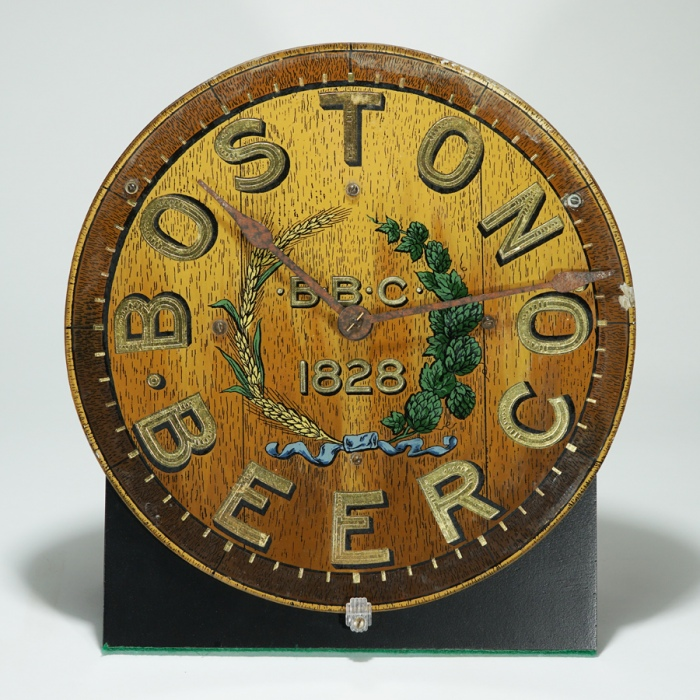Boston Beer Co Pre-prohibition Clock Beer