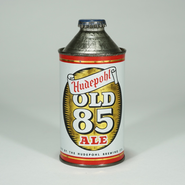 Hudepohl Old 85 Ale 169-24 Cone Beer