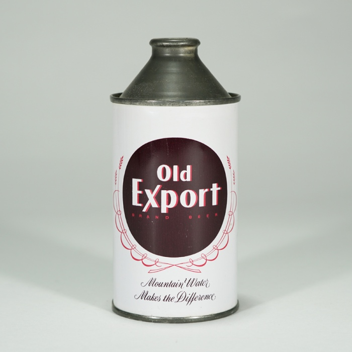 Old Export Cone Top Can 176-13 Beer