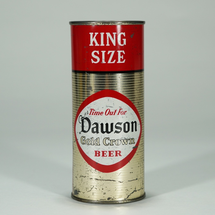 Dawson Gold Crown Beer BANK King Size 228-8 Beer