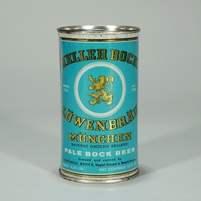 Lowenbrau Heller Bock Pale Bock Beer Can Beer