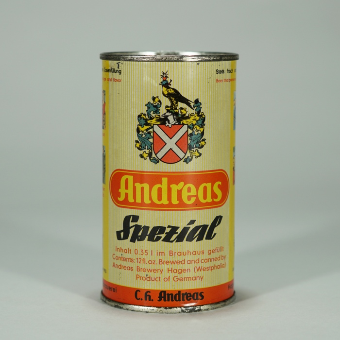 Andreas Spezial Beer Can Beer