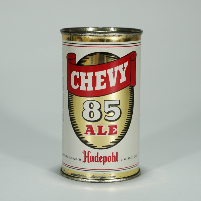 Hudepohl Chevy 85 Ale Beer Can 49-22 Beer
