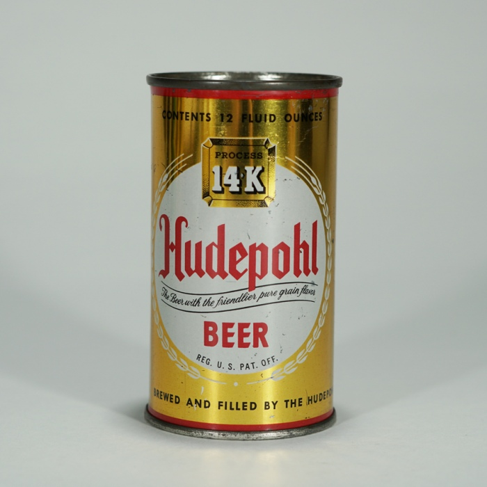 Hudepohl 14k Beer Can 84-14 Beer