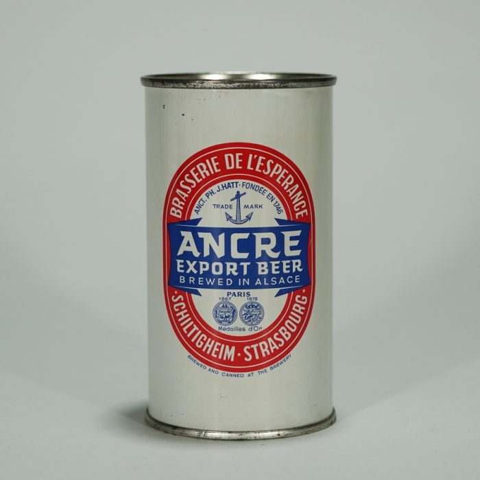 Ancre Export Beer Can Beer
