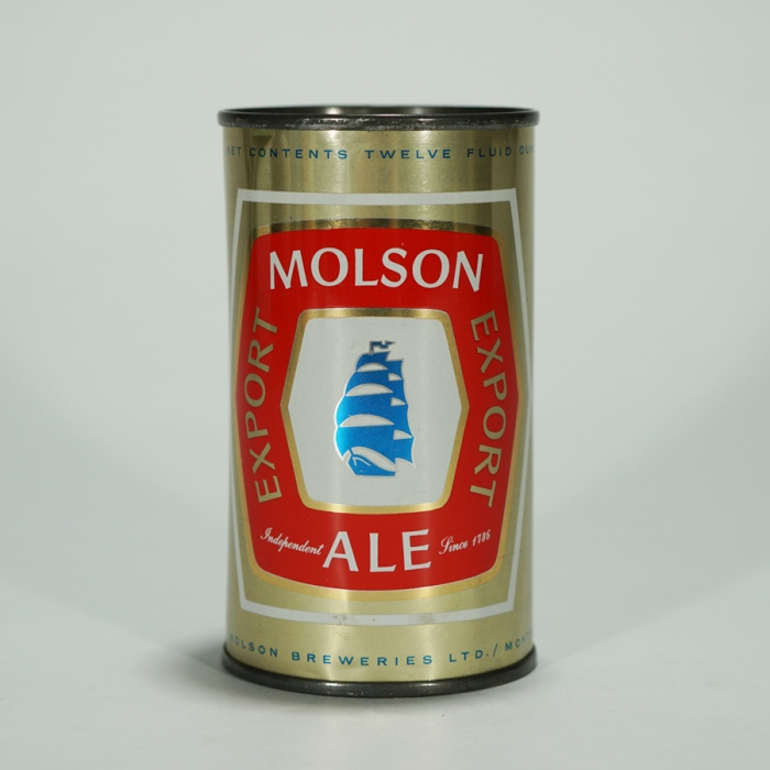 Molson Export Ale Flat Top Beer