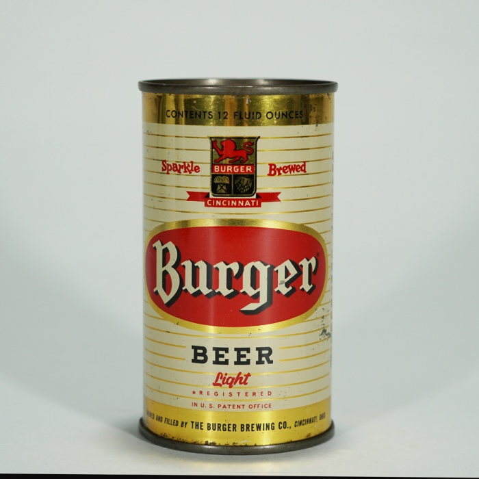 Burger Sparkle Brewed Light Beer 46-19 Beer