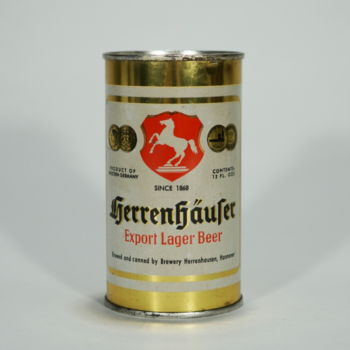 Herrenhaufer Export Lager Beer Can Beer