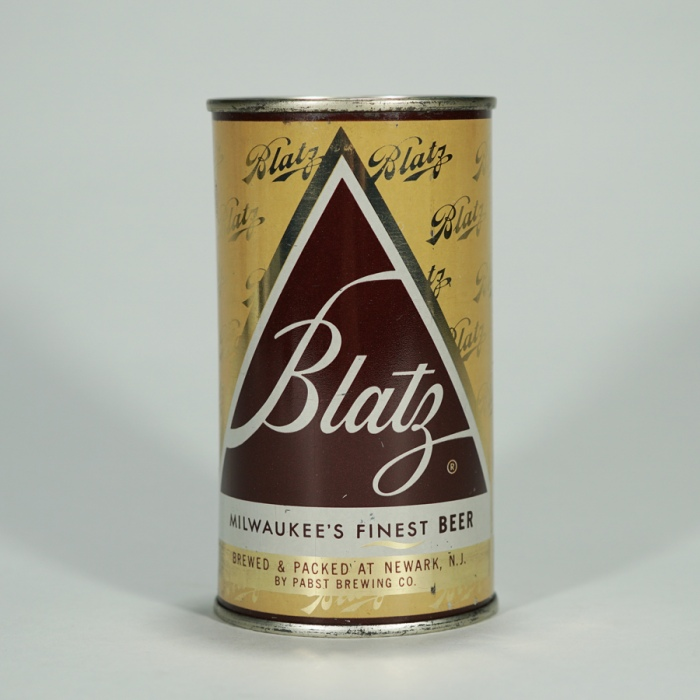 Blatz Beer Can Pabst Newark 39-5 Beer