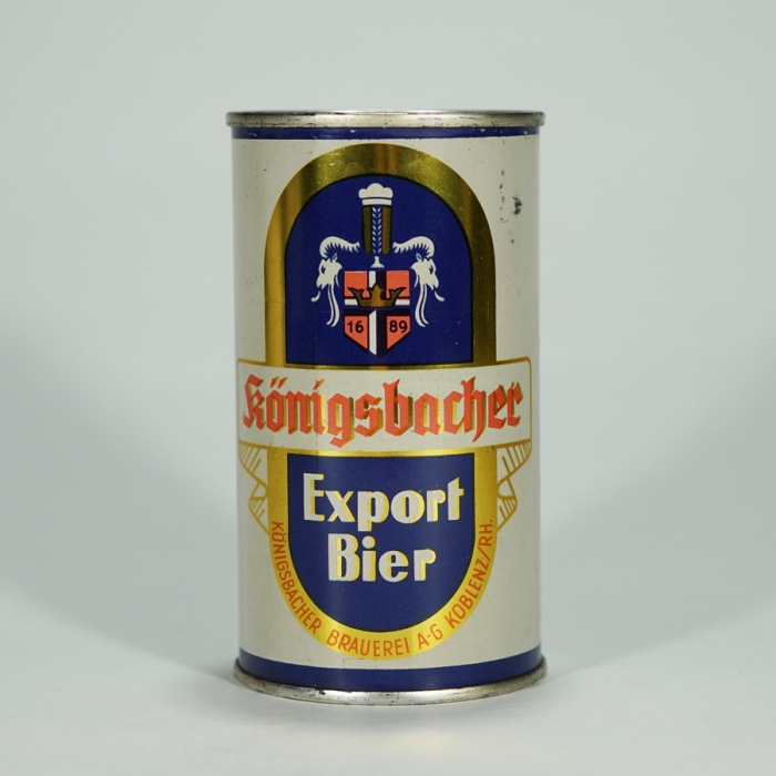 Konigsbahcer Export Bier Can Beer