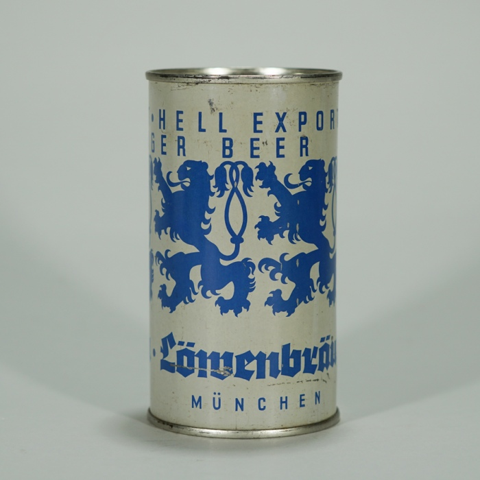Lowenbrau Hell Export Pale Lager Beer Can Beer