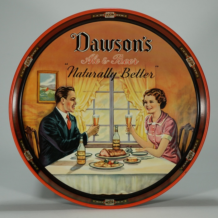 Dawson Table Scene Dinner Tray Beer