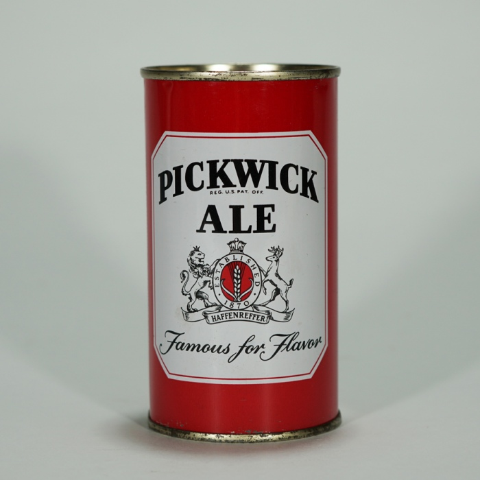 Pickwick Ale Famous For Flavor Can 115-03 Beer